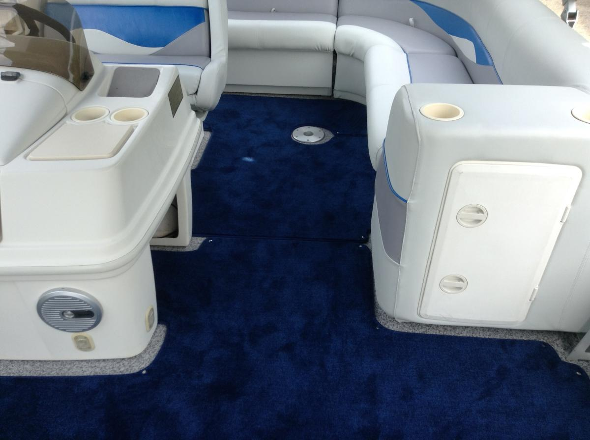Snap-in Carpet | On Site Boat Care
