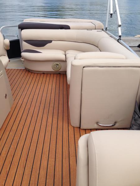 Pontoon Boat Enclosures >> Boat Flooring | On Site Boat Care